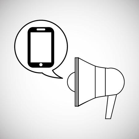communication concept: Communication concept with icon design, vector illustration 10 eps graphic. Illustration