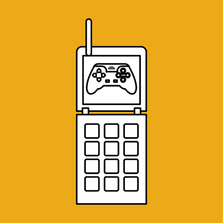 obsession: Game concept with icon design, vector illustration 10 eps graphic.