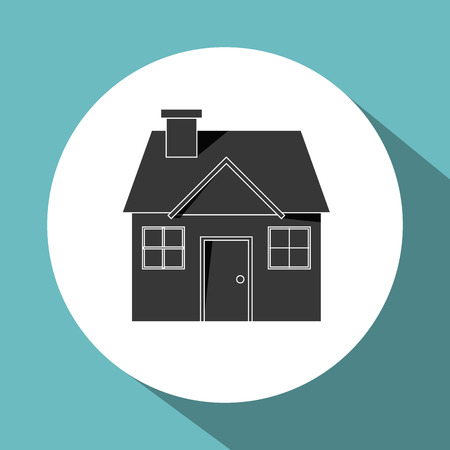 guard house: Insurance concept with icon design, vector illustration 10 eps graphic.