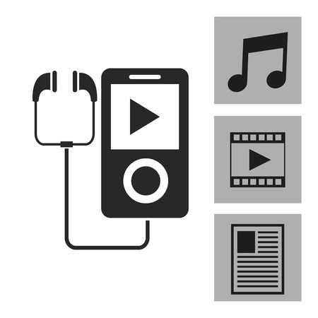 device: Device concept with icon design, vector illustration 10 eps graphic.
