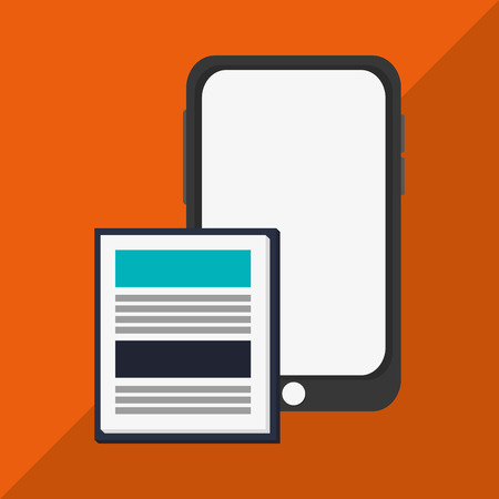 gadget: gadget concept with icon design Illustration