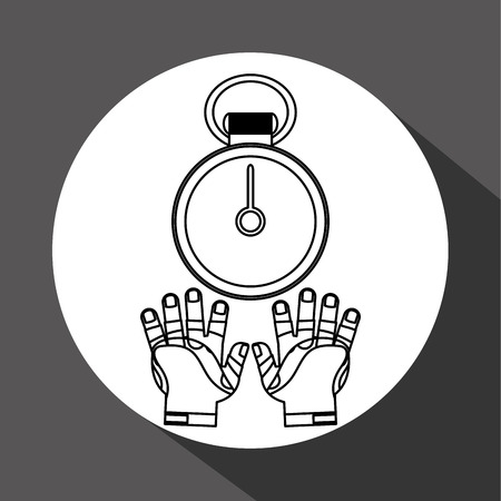 doctor gloves: Healthy lifestyle  concept with icon design, vector illustration 10 eps graphic. Illustration