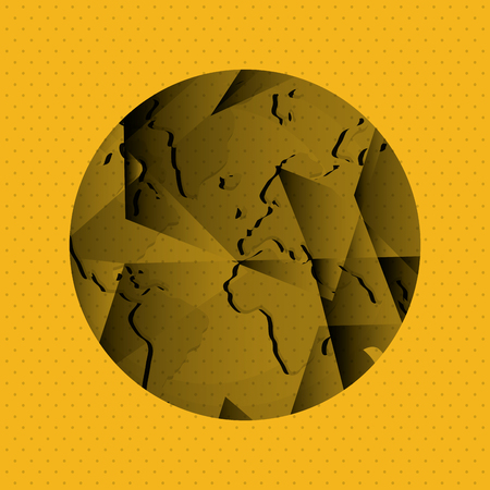 アイコンのデザイン、ベクトル図 10 eps グラフィックで惑星のコンセプトです。