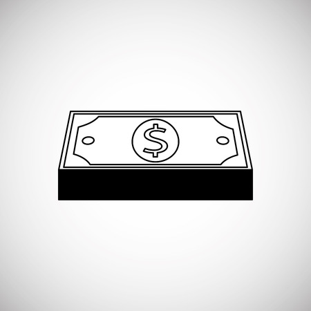 financial item: Financial item concept with icon design, vector illustration 10 eps graphic. Illustration