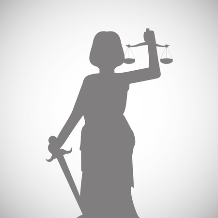 punishing: Law concept with icon design, vector illustration