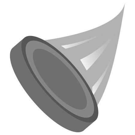 puck: flat design grey puck icon vector illustration Illustration