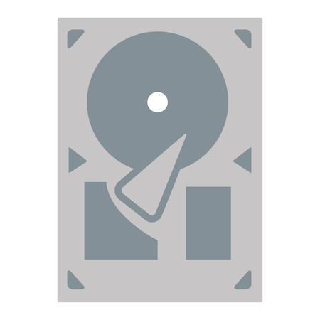 record player: grey flat design vinyl record player or gramophone vector illustration