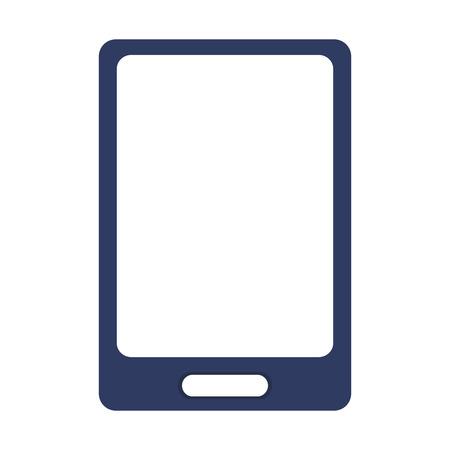 cellphone icon: simple flat design modern cellphone icon vector illustration Illustration