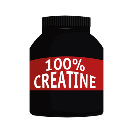 dietary: simple flat design dietary supplement icon vector illustration Illustration