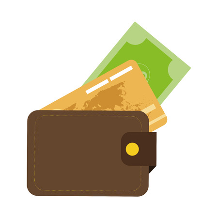 debit cards: simple flat design credit or debit cards icon vector illustration