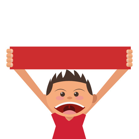 teenagers only: flat design boy holding gift box icon vector illustration