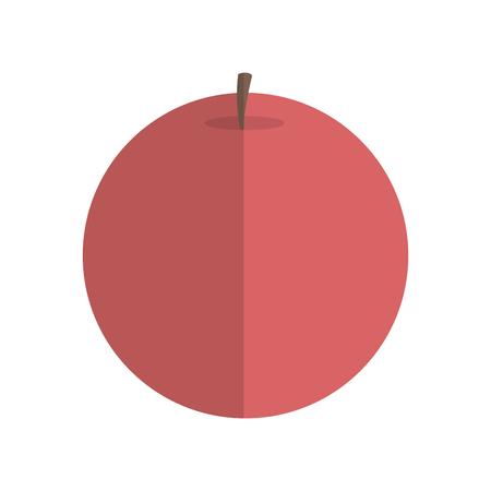 flat design single candle icon vector illustration Vettoriali