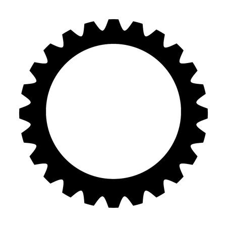 interlinked: flat design circle badges icon vector illustration Illustration