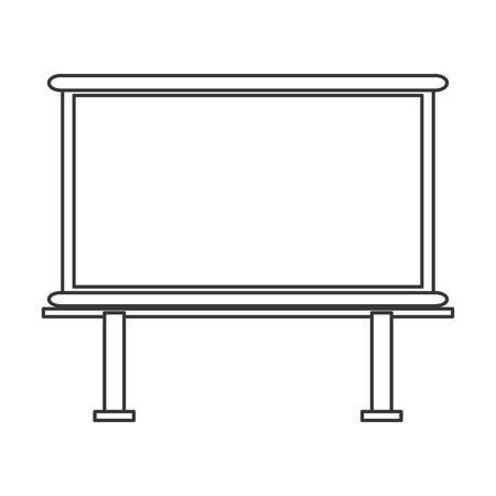 tableau: flat design marker board icon vector illustration