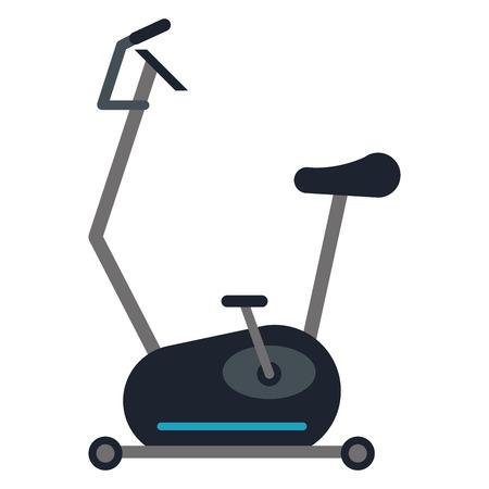 design plat vélo spinning icône illustration vectorielle Vecteurs