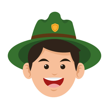 flaches Design Park-Ranger icon