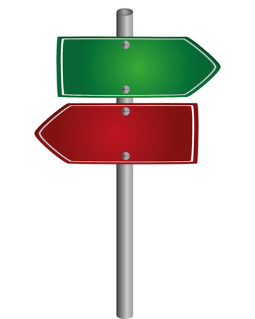 flat design name of place traffic sign icon vector illustration Illustration