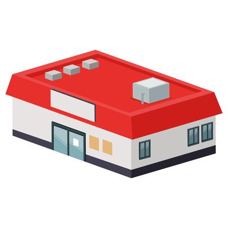 desig: flat desig supermarket or store icon vector illustration