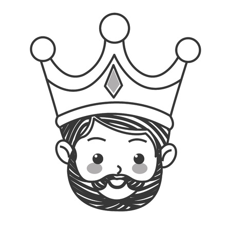 myrrh: flat design gaspar magi icon vector illustration