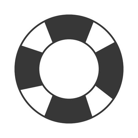 フラットなデザイン救命アイコン ベクトル図