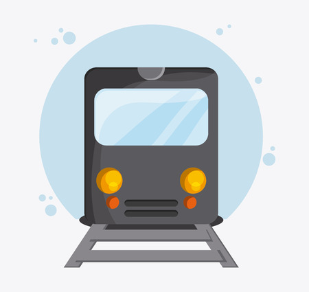fast driving: Train transportation vehicle travel. Colorfull and flat , vector