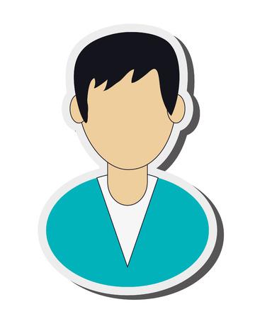 medic: flat design medic or doctor icon vector illustration