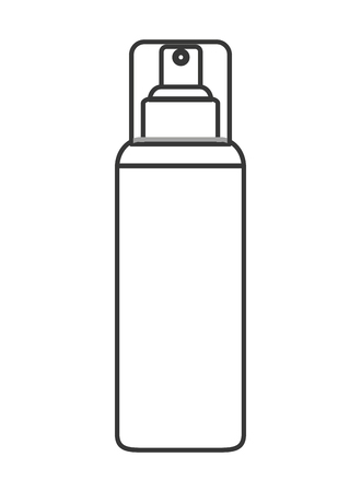 cosmetic bottle: flat design cosmetic bottle icon vector illustration