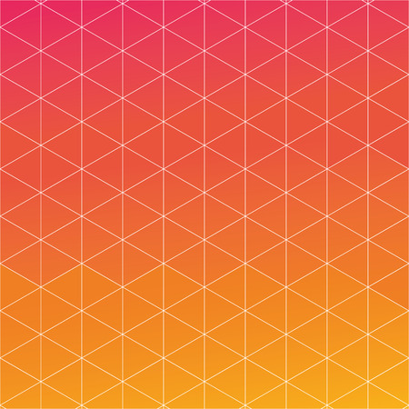 flat abstract triangle background design vector illustration Illustration