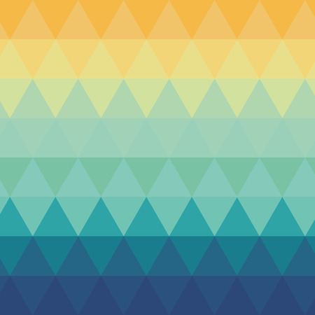 ombre: flat design triangle ombre pattern background vector illustration Illustration