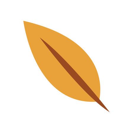 chokeberry: flat design fall leaf icon vector illustration