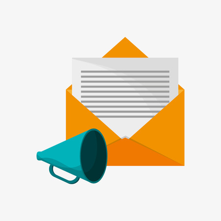 mail messaging  related icons vector illustration design Illustration