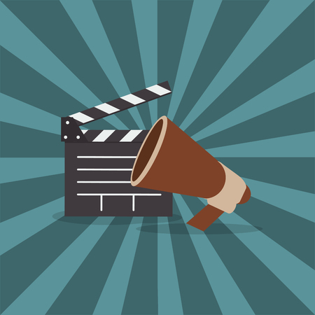 cinematography: cinematography direction related icons image vector illustration design