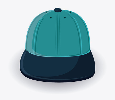 design costume: cap icon. Accessory cloth costume and wear theme. Colorful and isolated design. Vector illustration