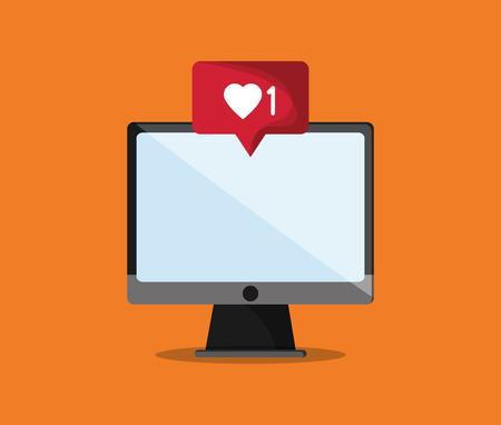 icono de notificación en la comunicación relacionada con el diseño de imagen ilustración vectorial Ilustración de vector