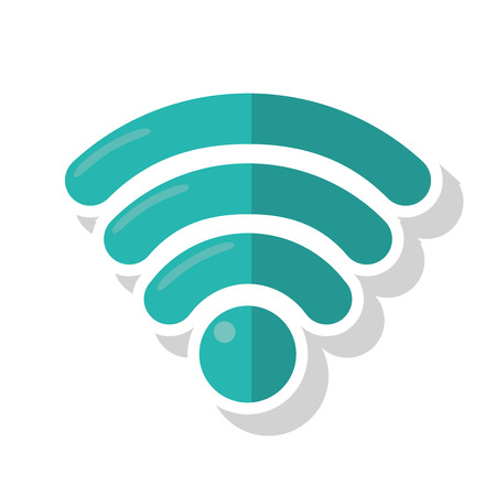 Wifi Icon. Global Communication Intenet Connectivity Web And ...