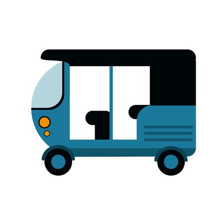 transporter: ship vehicle icon. transportation travel and trip theme. Isolated design. Vector illustration Illustration
