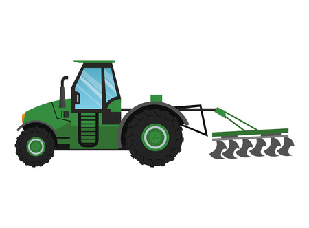Truck machine icon. Farm lifestyle agriculture harvest and rural theme. Colorful and isolated design. Vector illustration