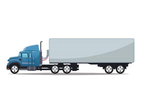 big truck: Big truck icon. Vehicle transportation travel and trip theme. Colorful design. Vector illustration Illustration