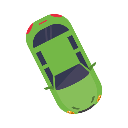 car vehicle icon. Automobile auto transportation and transport theme. Isolated design. Vector illustration