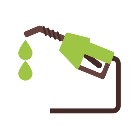 Gasoline pump icon. Oil industry energy fuel and power theme. Isolated design. Vector illustration