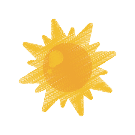 sun energy: sun energy natural symbol design ed vector illustration Illustration