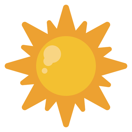 sun energy: sun energy natural symbol design vector illustration