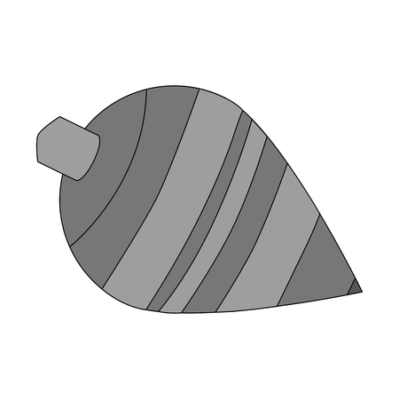 spinning top: Spinning top toy icon. Childhood play game and object theme. Isolated design. Vector illustration