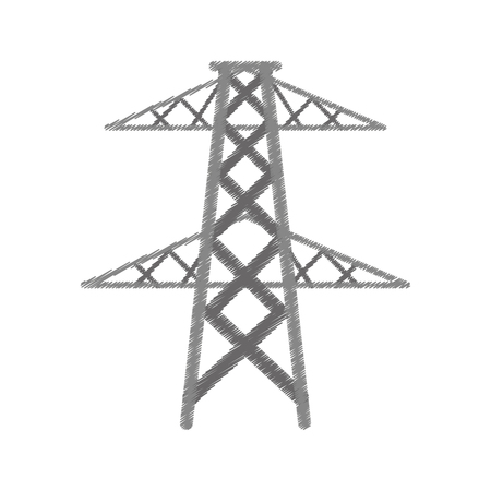 electrical tower: electrical tower transmission energy power