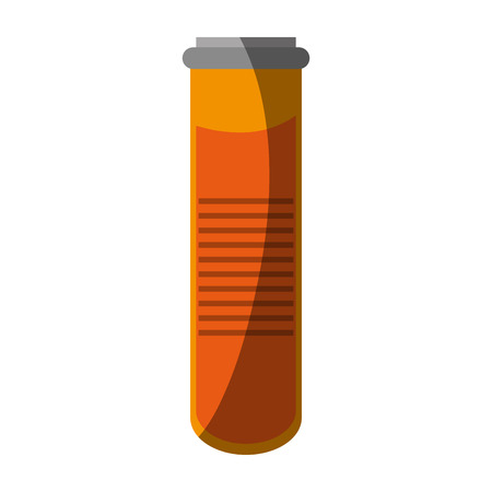 injure: Tube icon. Medical health care hospital and emergency theme. Isolated design. Vector illustration Illustration