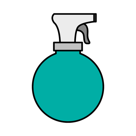 atomizer: Water atomizer icon. Hair salon supply utensil and barbershop theme. Isolated design. Vector illustration Illustration
