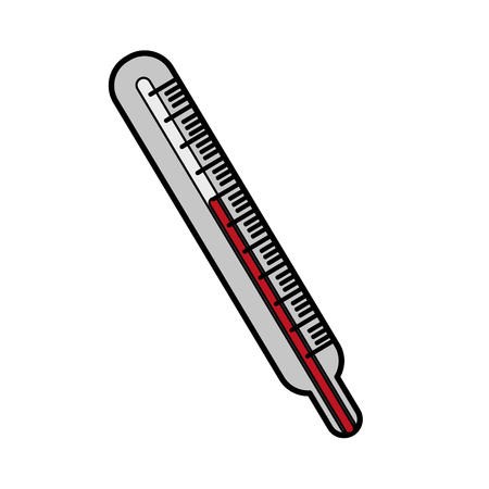 injure: Thermometer icon. Medical health care hospital and emergency theme. Isolated design. Vector illustration