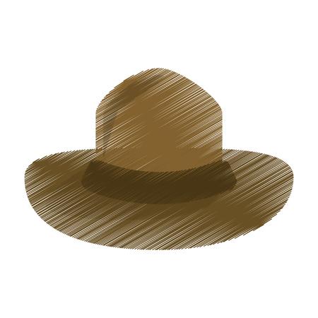 67331959 - Sombrero de color canadiense policía montado el diseño  ilustración vectorial eps10 7674015cc7d