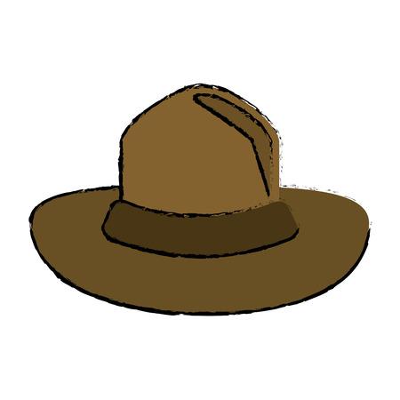 67331969 - Sombrero de color canadiense policía montado el diseño  ilustración vectorial eps10 dbc0f01289b