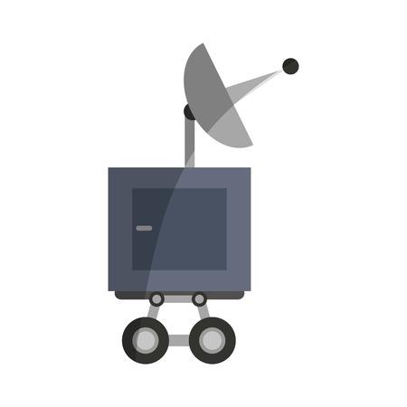 Antenna Icon. Broadcast Internet Technology And Communication ...
